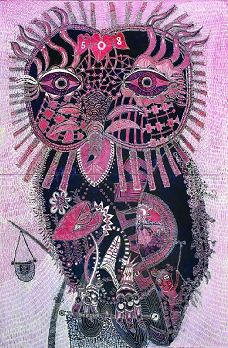 """Owl of Guidance"" par Joshua Yeldham"