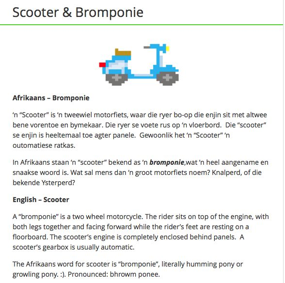Bromponie & Scooter
