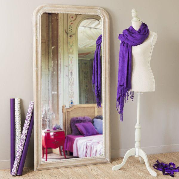 Miroir Louis naturel 160x80