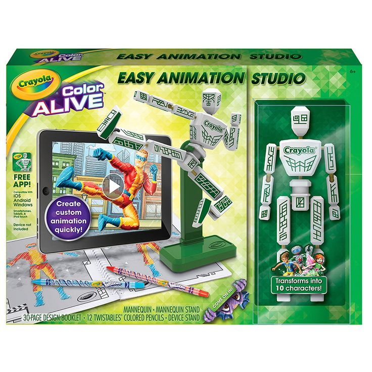 Crayola Color Alive Easy Animation Studio | ToysRUs $24.95 -- sold at KMART too, they price match
