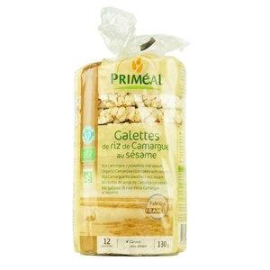 Galettes de riz de Camargue au sésame Bio
