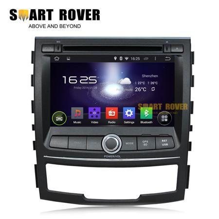 Автомобильный DVD плеер Smart-Rover 1024 * 600 Android 4.4 DVD Ssangyong Korando 2010/gps Navi 1.6  — 41175 руб. —