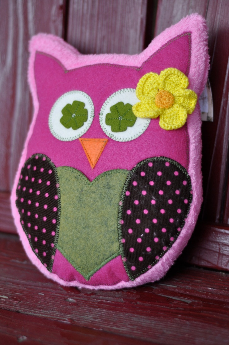 Owl Plushie Pillow