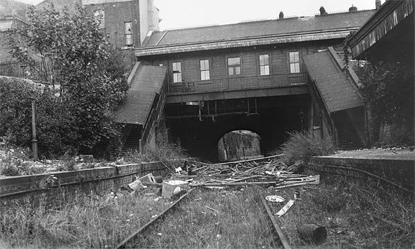 Blackheath Hill Station, 1920. Closed 1917, Robinscroft Mews stands on the site of the station.