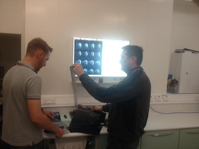 X-ray preparation