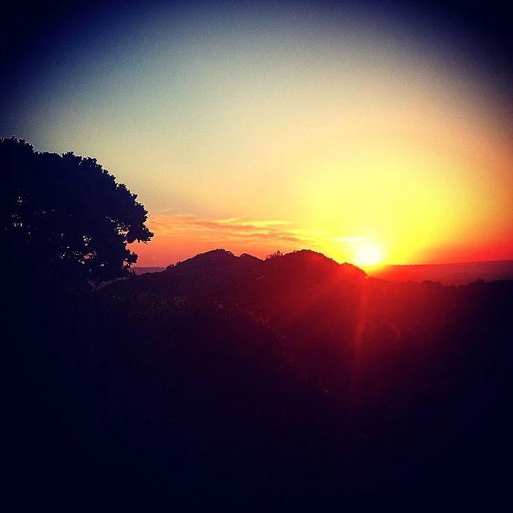 Lighthouse sunset. Instagram: byronbayyogi