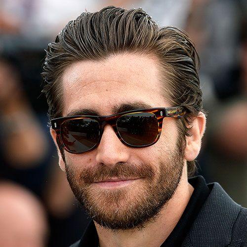Jake Gyllenhaal Haarschnitt Super Haar Modelle Long Hair Styles Men Long Slicked Back Hair Slicked Back Hair