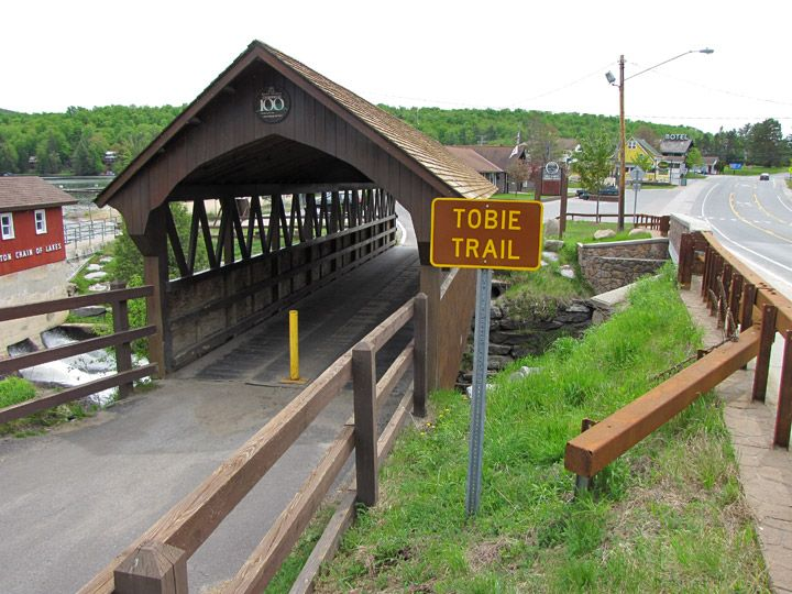 New York Covered Bridge 32-22-B, Old Forge, Herkimer County - Travel…