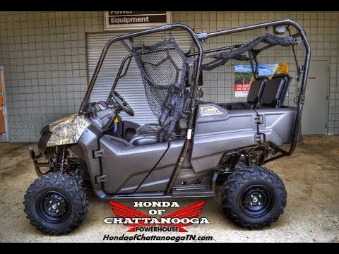 Camo 2015 Honda Pioneer 700 4 Seater Video Review of Specs / Features / Pricing at Honda of Chattanooga. Your TN / GA / AL area Honda PowerSports Dealer since 1962!  Check out our discount Honda Motorcycle / ATV / UTV / Side by Side / SXS / Scooter / Dirt Bike prices at www.HondaofChattanoogaTN.com Honda of Chattanooga.