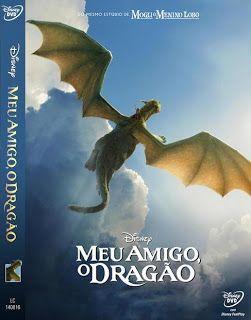 Tudo Capas Gtba: Meu Amigo O Dragão - Capa Desenho DVD