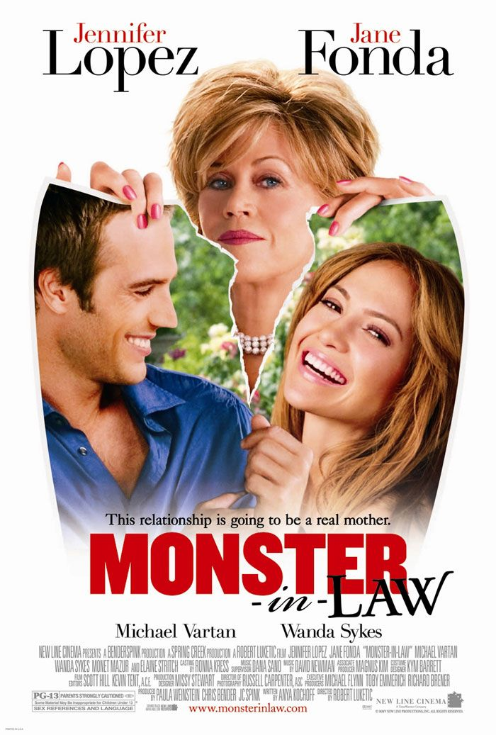 Monster-In-Law, very funny, nice to see Fonda again