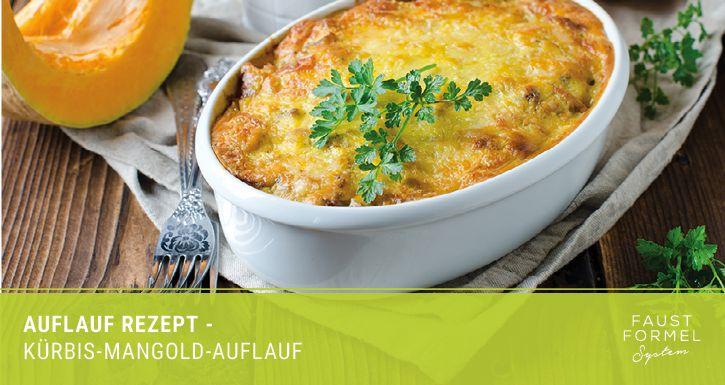 Auflauf-Rezept: Kürbis-Mangold-Auflauf