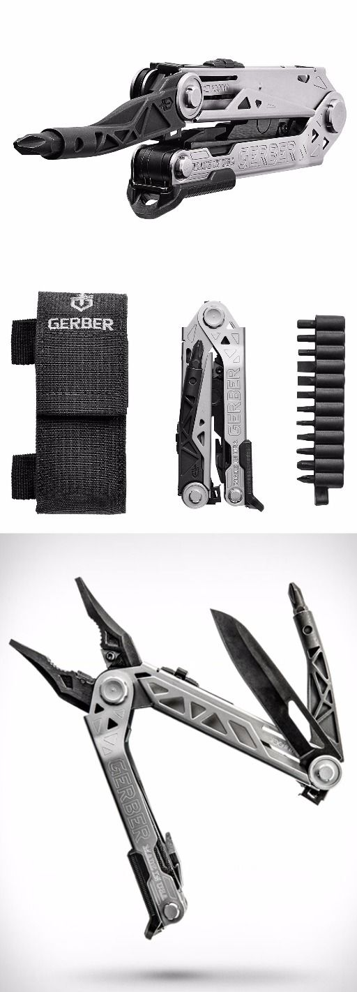 Gerber Center-Drive EDC Everyday Carry Multi-Tool with Sheath and Bit set