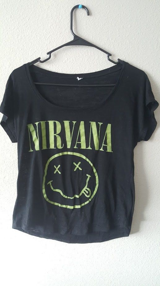 90s Nirvana Band Tee by Only90sKidsRemember on Etsy
