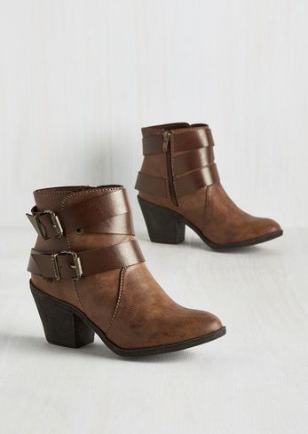 Buckle booties for the win! love these for fall