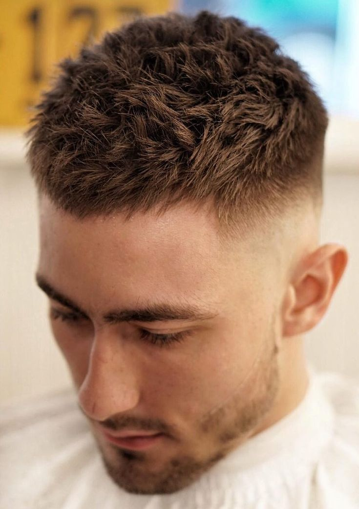 Short Hairstyles For Men With Thick Hair 372 Best Men Hairstyle Images On Pinterest  Barbers Hair Cut Man