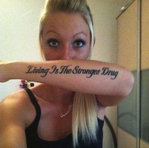 misspelled tattoos 9 The permanent oops: Misspelled TATTOOS (20 photos)