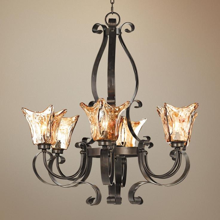 Best 75 lighting images on pinterest chandeliers for Hacienda style lighting