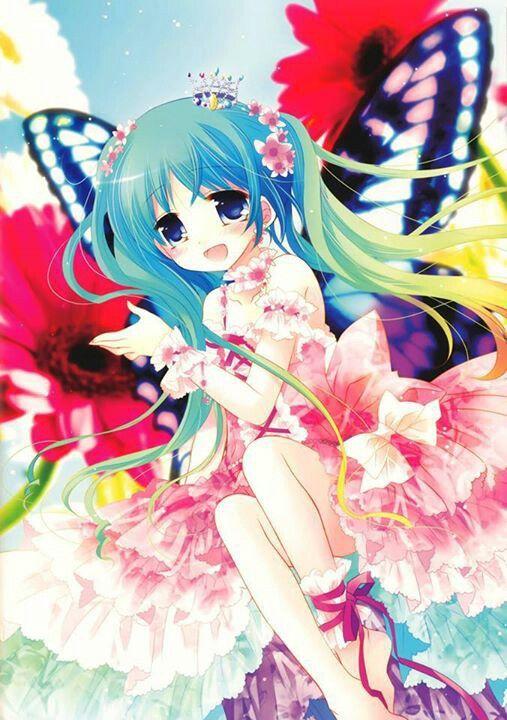 ANIME ART fairy. . .fantasy. . .fairy wings. . .butterfly ...