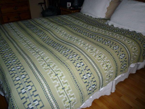 swedish weaving    Swedish Weave blanket