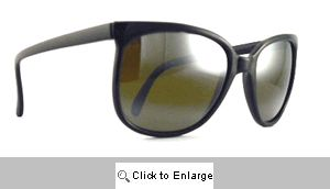 Frisco Black Mirrored Vintage Sunglasses - 110