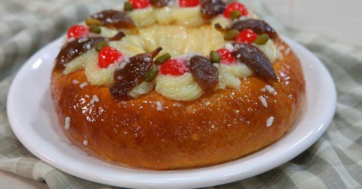 Aprende a preparar esta receta de Rosca de reyes - pascua , por Osvaldo Gross en elgourmet