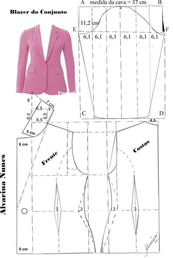 Costura e Modelagem   sacos   Pinterest   Patrones de costura ...