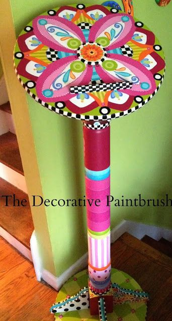 Another amazing piece by - The Decorative Paintbrush, Designs by Mary Mollica: A Jazzed-Up Speaker's Podium