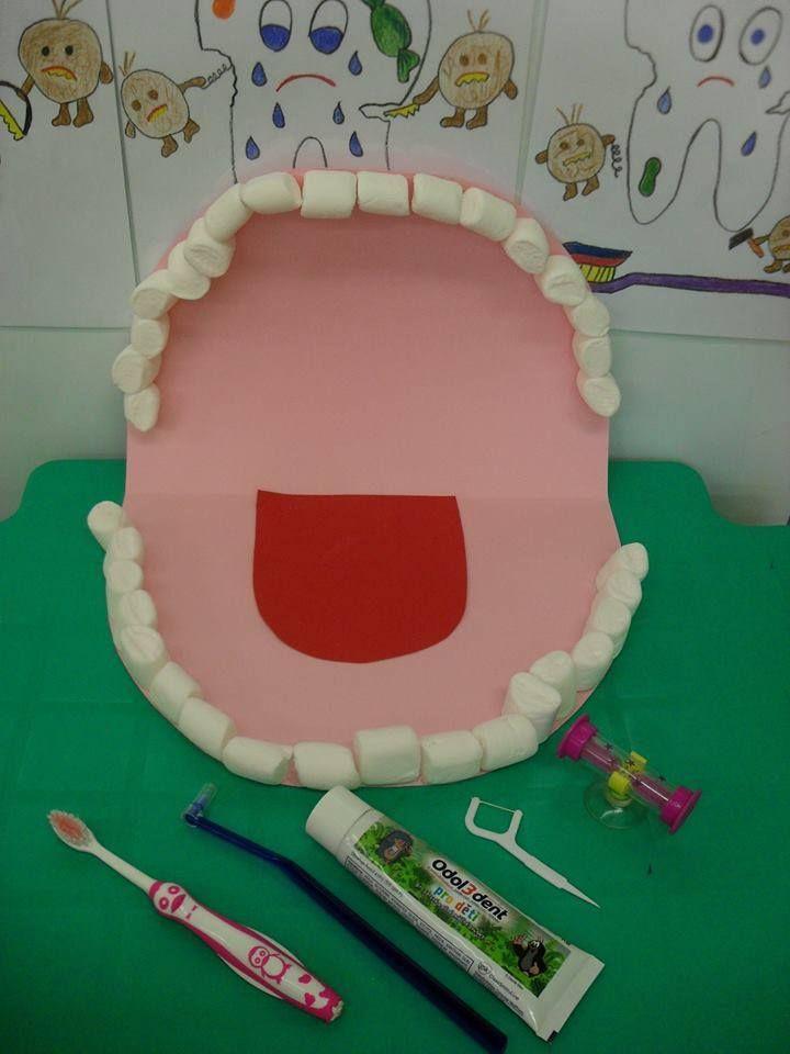 moje tělo - zuby z bonbonů