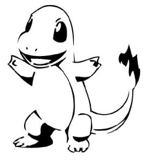 Charizard Pokemon Stencil