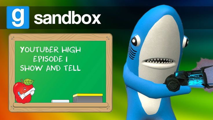 SHOW & TELL, LEFT SHARK'S SURPRISE! | GMOD Sandbox (Funny Moments)