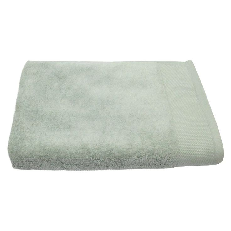 Fieldcrest Purple Towels: Bath Towel - Silver Green - Fieldcrest