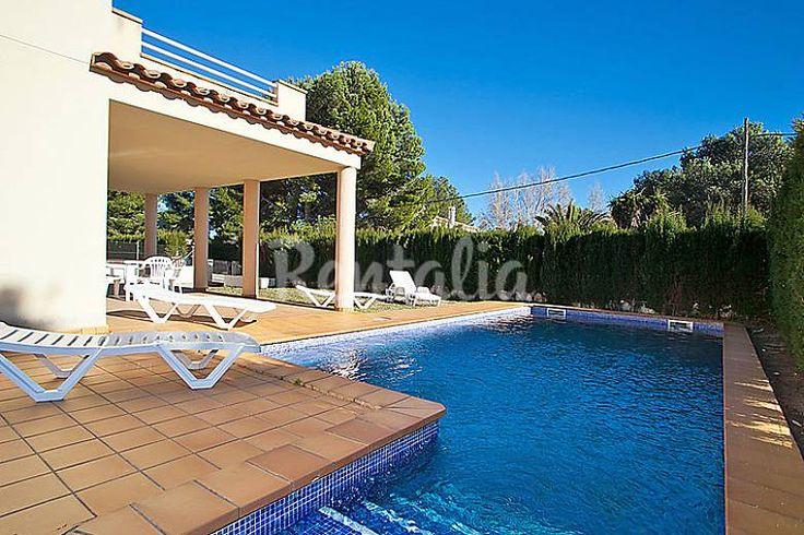 Villa en location à 300 m de la plage. Tres Calas (L' Ametlla de Mar - Tarragone). Consultable sur Rentalia réf.185172. Contact direct avec le propriétaire.