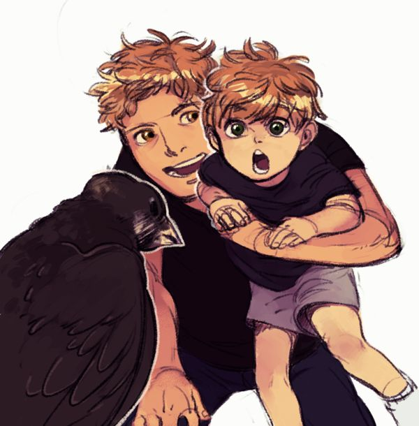 Jace And Baby Jace by pombeanie
