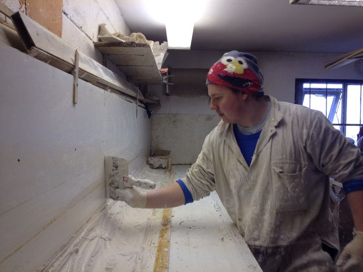 Apprentice Craftsman, Jack Atkinson, started at Ryedale since April 2012, trained to NVQ level 2 working on NVQ Level 3 in fibrous plastering & Heritage Plastering