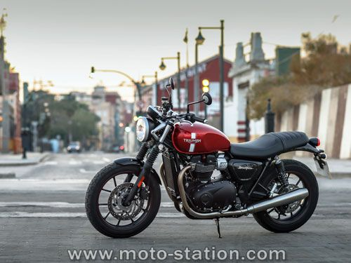 Essai Triumph Street Twin par moto-station