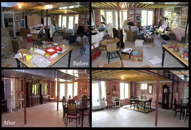 In need of showing that basement a bit better when you sell? Call me. www.decluttering.ca