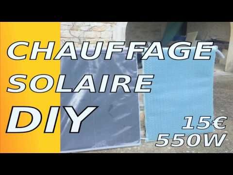 Montage du panneau solaire thermique - YouTube