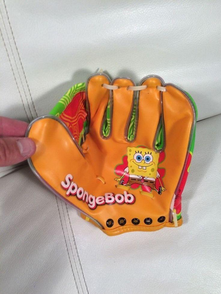 Nickelodeon SpongeBob Squarepants Baseball Glove 2010