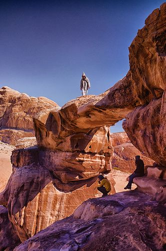 Stone bridge of Wadi Rum