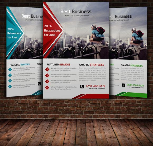 Advertising Poster Templates Impressive 58 Best Flyer Design Images On Pinterest  Flyer Design Business .