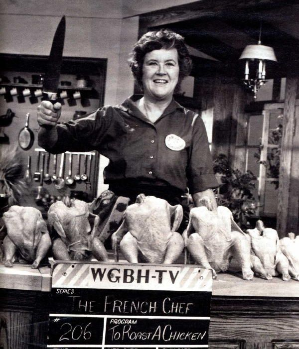 """I was 32 when I started cooking. Up until then I just ate.""  --- Julia Child"