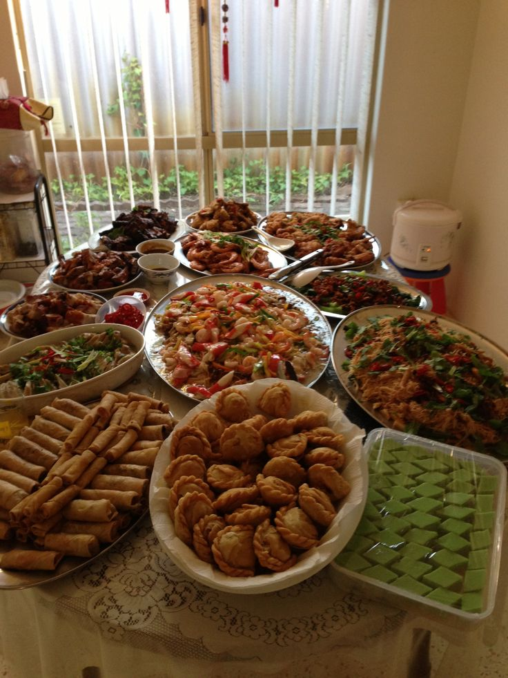 Chinese New Year Feast