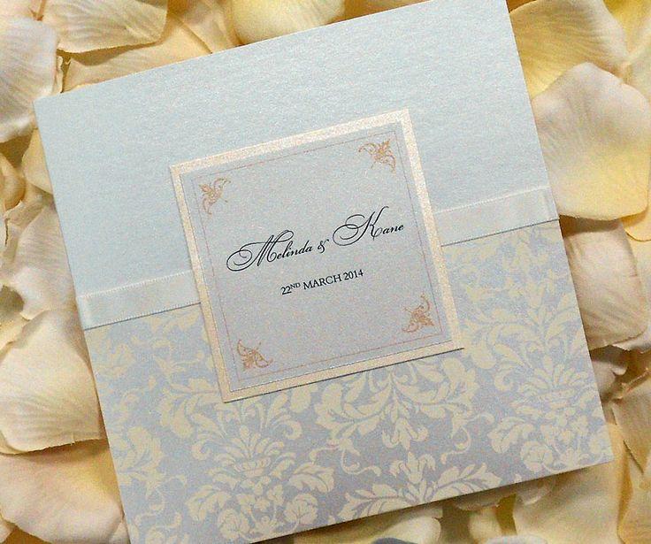 Beautiful handcrafted invitation