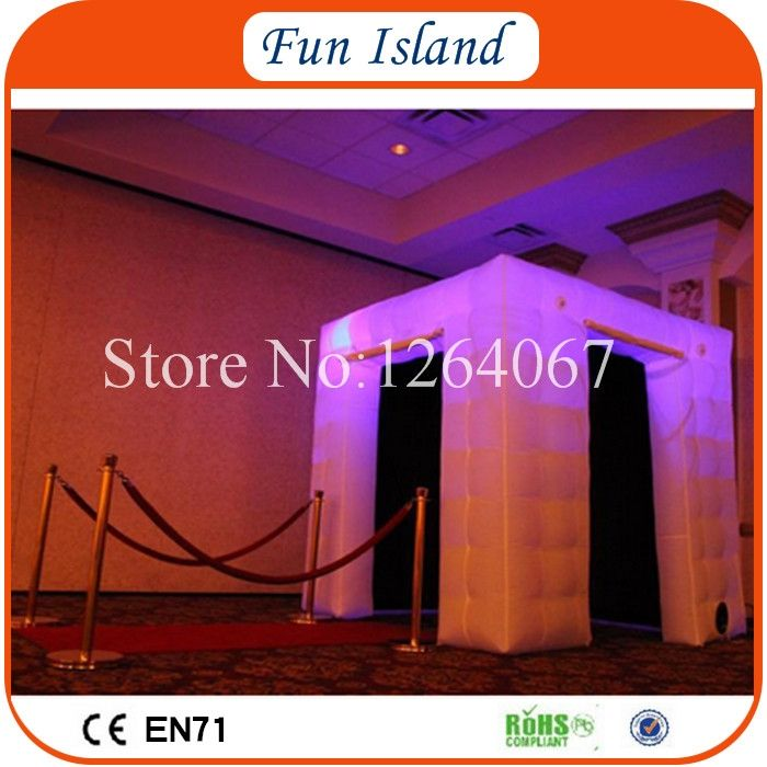 545.00$  Watch here - http://ali1ge.worldwells.pw/go.php?t=32764929346 - Free Shipping Portable LED Photo Booth Tent Inflatable Photo Booth For Sale 545.00$