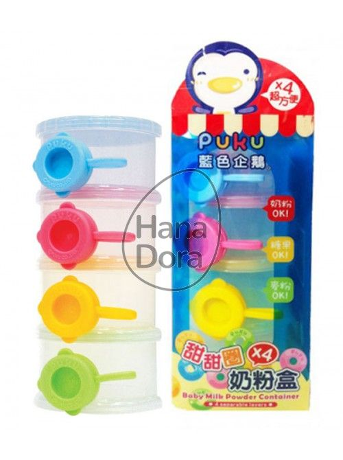 PUKU BABY MILK POWDER CONTAINER http://www.hanadora.com/feeding/puku-baby-milk-powder-container.html