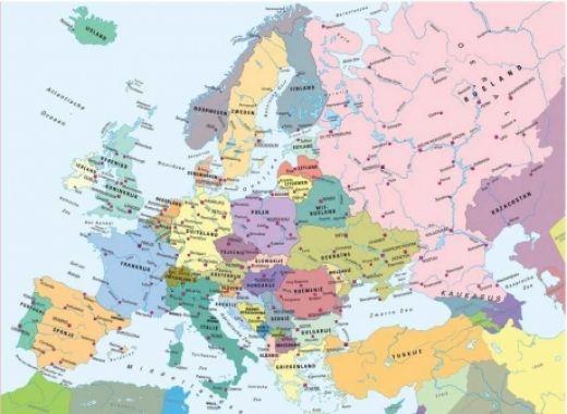 Puzzel Europakaart (CITO)