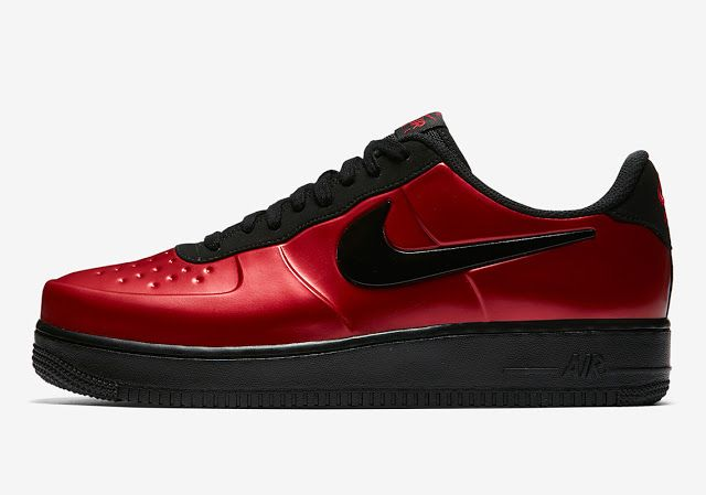468e8fd0e30 First Look  Nike Air Force 1 Low Foamposite CUP  Cough Drop  Red ...