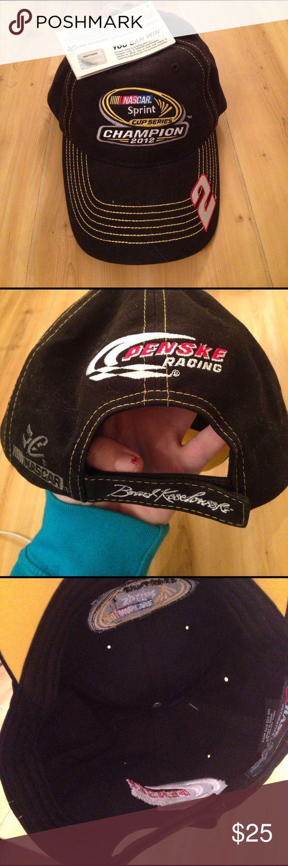 NASCAR Brad Keselowski #2 Hat NWT Brad Keselowski hat champion nascar sprint cup series 2012 NASCAR Accessories Hats