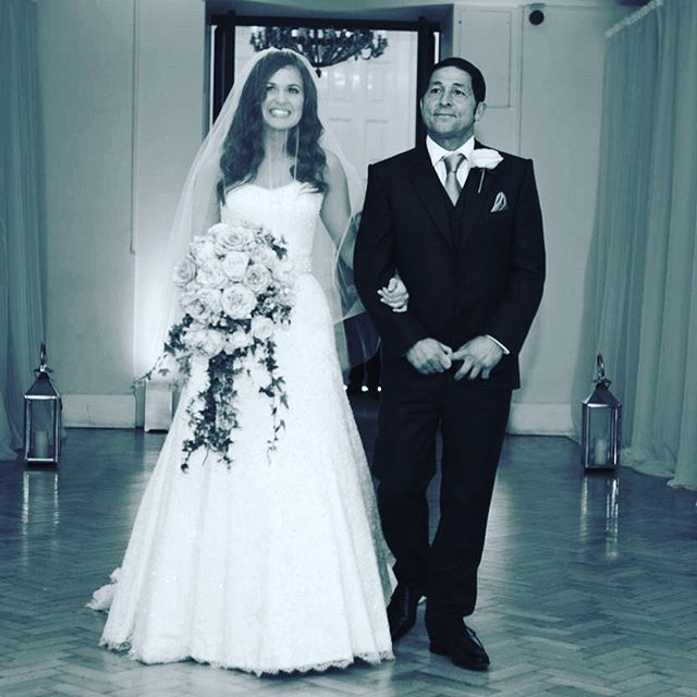 Giovanna And Tom Fletcher S Wedding Day I Love Her Dress Hair Everything About This